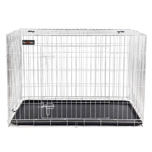 Silver Wire Large Dog Crates for Sale
