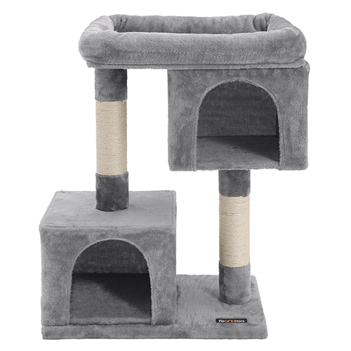 Two Bedrooms Cat House One Platform